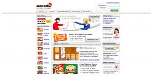 Die Webseite von GameDuell