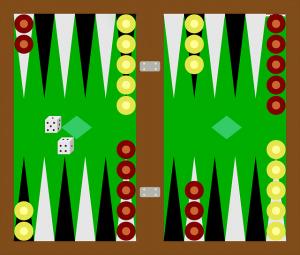Backgammon Spielregeln und Aufstellung